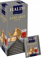 Упаковка черного чая Halim с ароматом бергамота 2 пачки по 25 пакетов (4820229040771) - изображение 2