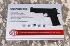 Пневматичний пістолет SAS M1911 Tactical (23701429) - зображення 18