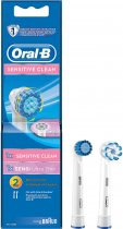 Насадка до електричної зубної щітки ORAL-B BRAUN2 шт 1 Sensitive Clean и 1 Sensi Ultrathin (4210201746447) - зображення 1