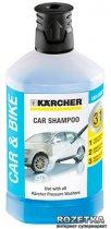 Автошампунь Karcher Plug & Clean 3 в 1 1 л (6.295-750.0) - изображение 1