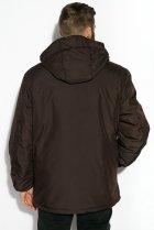 Куртка Time of Style 120PCHB9371 XL Темно-коричневый - изображение 4