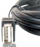Удлинитель Gemix USB 2.0 AM - AF 3 м с ферритовым фильтром (GC 1615-3) - изображение 2