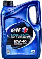 Моторное масло Elf Evolution 700 Turbo Diesel 10W-40 5 л (201553) - изображение 1
