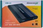 """Зовнішня кишеня Grand-X для HDD 2.5"""" USB 2.0 (HDE21) - зображення 3"""
