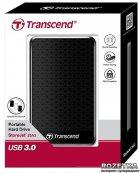 Жорсткий диск Transcend StoreJet 25A3 2TB TS2TSJ25A3K 2.5 USB 3.0 External Black - зображення 3