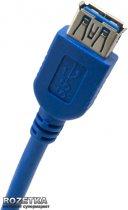 Кабель ExtraDigital USB 3.0 AM - AF, 1.5 м, 28 AWG, Super Speed (KBU1632) - зображення 2
