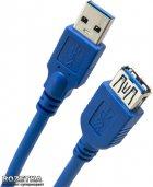 Кабель ExtraDigital USB 3.0 AM - AF, 1.5 м, 28 AWG, Super Speed (KBU1632) - зображення 1