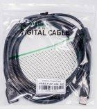 Кабель PowerPlant USB 2.0 AF – AM 5 м One ferrites (KD00AS1212) - изображение 3