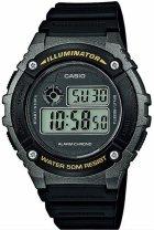 Чоловічий годинник CASIO W-216H-1BVEF - зображення 1