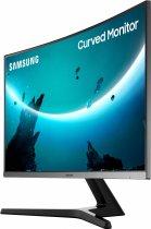 "Монітор 27"" Samsung Curved C27R500 Dark Silver (LC27R500FHIXCI) - зображення 5"