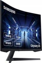 "Монітор 27"" Samsung Odyssey G5 LC27G54T Black (LC27G54TQWIXCI) + DisplayPort и HDMI кабель - зображення 4"