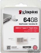Kingston DataTraveler microDuo 3C 64GB (DTDUO3C/64GB) - зображення 9
