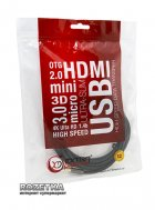 Кабель Extradigital Audio 3.5 мм (Plug-Socket), 3 м, 30 AWG, Stereo, Gold, PVC (KBA1641) - изображение 5