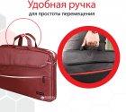 """Сумка для ноутбука Promate Charlette 15.6"""" Red (charlette.red) - зображення 4"""