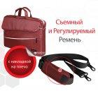 """Сумка для ноутбука Promate Charlette 15.6"""" Red (charlette.red) - зображення 5"""