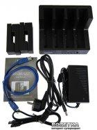"""Док-станція Maiwo для 4xHDD 2.5""""/3.5"""" SATA/SSD USB 3.0 (K3094) - зображення 5"""
