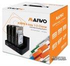 """Док-станція Maiwo для 4xHDD 2.5""""/3.5"""" SATA/SSD USB 3.0 (K3094) - зображення 6"""