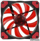Кулер GameMax GaleForce 32xLED 120 мм Red (GMX-GF12R) - зображення 3