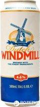 Упаковка пива Dutch Windmill світле фільтроване 4.6% 0.5 л x 24 шт. (8714800029728) - зображення 1