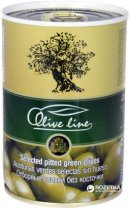 Оливки отборные без косточки Olive Line 420 г (8436024293753) - изображение 1