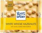 Шоколад Ritter Sport Nut Selection Белый с цельными лесными орехами 100 г (4000417701008) - изображение 1