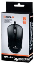 Миша Real-El RM-211 USB Black - зображення 6