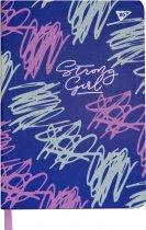 Блокнот-мотиватор YES Strong Girl серии Fitness 140 х 210 мм 192 страницы (151579) - изображение 2