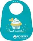 Слюнявчик силиконовый Canpol Babies (74/020 Бирюзовый) - изображение 1
