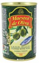 Оливки зеленые с тунцом Maestro de Oliva 300 г (8436024290059) - изображение 1