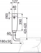 Бачок для унітаза ALCA PLAST Uni Dual A93 універсальний (8594045931051) - зображення 5