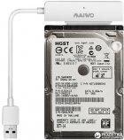 """Адаптер Maiwo для підключення HDD/SSD 2.5"""" SATA до USB3.0 + контейнер захисний для HDD 2.5"""" (K104-U3S white) - зображення 6"""