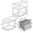 Духовой шкаф электрический Ventolux NERO - изображение 10