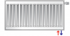 Радиатор PURMO Ventil Compact 33 300 x 1400 - изображение 7