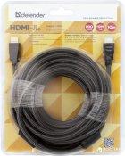 Цифровий кабель Defender HDMI-33PRO HDMI MM, ver1.4 10 м (87435) - зображення 3