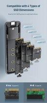 Зовнішній кишеню Baseus для SSD M. 2 USB 3.0 - зображення 3