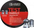 Свинцеві кулі JSB Diabolo Test Exact 0.51 - 0.87 г 350 шт. (14530510) - зображення 1