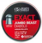Свинцовые пули JSB Exact Jumbo Beas 2.2 г 150 шт (14530552) - изображение 1