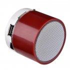 Портативна Bluetooth колонка SPS S11u з LED підсвічуванням червоний - зображення 2