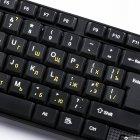 Клавиатура проводная Piko KB-005 (1283126472459) - изображение 2