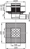 Душовий канал RAVAK SN 501 X01435 - зображення 3