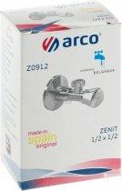 """Вентиль кутовий ARCO Spain ZENIT Z0912 1/2""""х1/2"""" - зображення 5"""