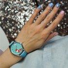 """Годинники наручні ZIZ """"Маленький лис"""" жіночі (ремінець небесно-блакитний) + доп. ремінець - зображення 4"""