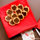 Печенье сдобное Делиция Райськие яблочки 1.1 кг (4820167915582) - изображение 3