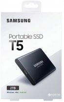 Samsung Portable SSD T5 2TB USB 3.1 Type-C V-NAND TLC (MU-PA2T0B/WW) External - изображение 8