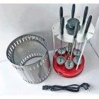 Электрошашлычница Livstar LSU-1320 1000W на 6 шампуров шашлычница для шашлыка дома Красный - изображение 4
