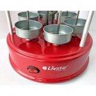 Электрошашлычница Livstar LSU-1320 1000W на 6 шампуров шашлычница для шашлыка дома Красный - изображение 5
