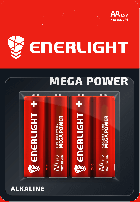 Батарейка Enerlight Mega Power AA 4 шт (90060104) - изображение 1