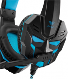 Наушники Aula Prime Basic Gaming Headset Black-Blue (6948391232768) - изображение 4
