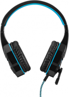 Наушники Aula Prime Basic Gaming Headset Black-Blue (6948391232768) - изображение 5