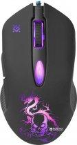 Миша Defender Sky Dragon з ігровою поверхнею GM-090L USB Black (52090) - зображення 2